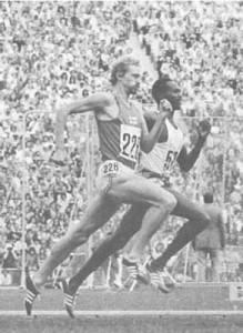 Vasala and Kip Keino showcasing perfect sprint form