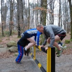 Putting fun into cross-training with free running and natural movement