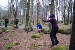 Plyometrics and natural movement in the forest