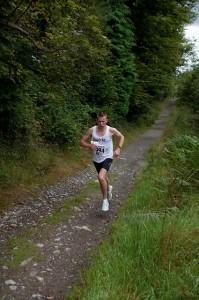 Emmett Dunleavy at the Devil's Glen race