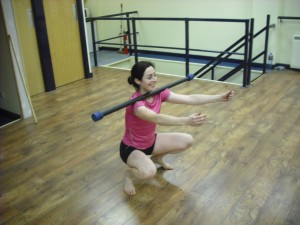 Aoife Joyce posture squat