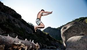 Erwan le Corre jumps