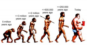 Evolution seen from a dietary perspective