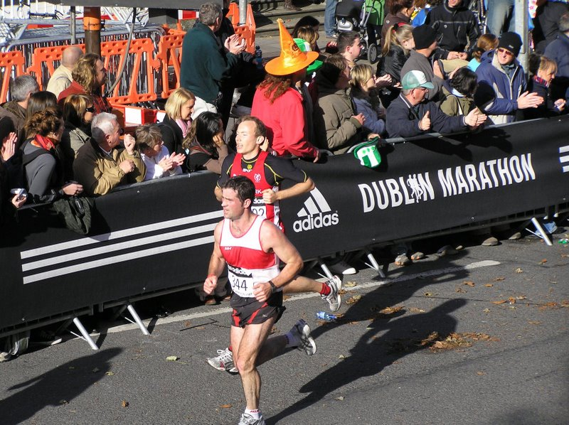 Running the Dublin marathon for the first time - in a negative split