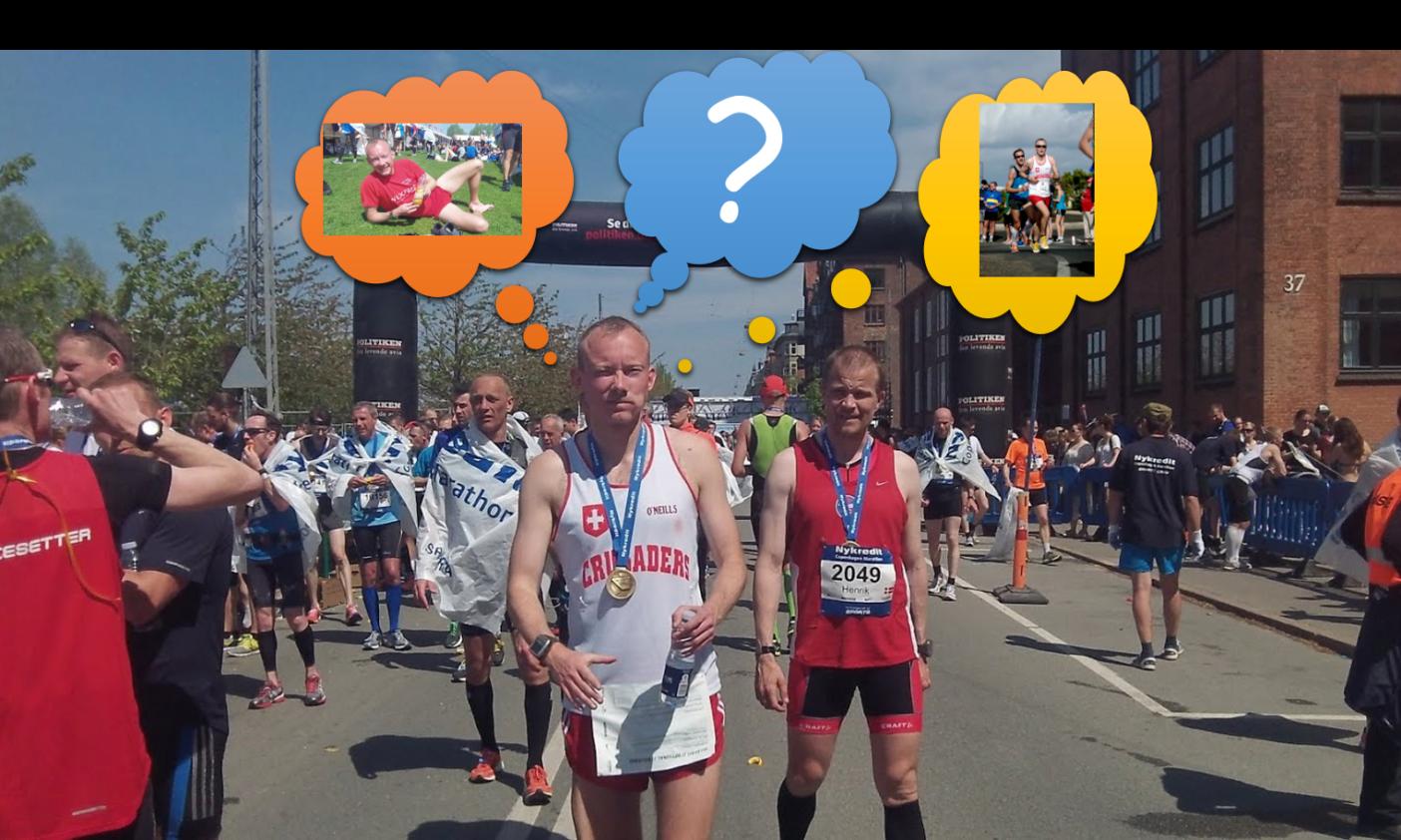 Marathon done – what now?